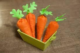 carrot bean bag maker crate