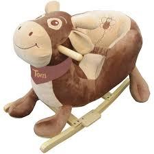 siege a bascule bebe fauteuil à bascule bébé personnalisé vache suisse