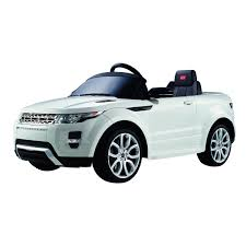 range rover land rover white licensed range rover evoque sq4 6v kids ride on toy car electric