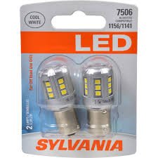 Led Light Bulbs For Travel Trailers by Amazon Com Sylvania 7506 White Led Bulb Contains 2 Bulbs