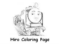 thomas train coloring pages hiro coloring page free download hiro battery operated trains