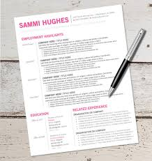 Resume Template On Microsoft Word Resume Template Cv Template The Ashley Roberts Resume Design