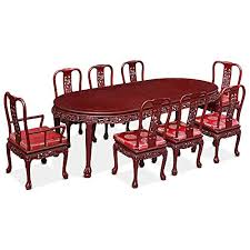oval dining table for 8 china furniture online rosewood dining table 96 inches dragon motif