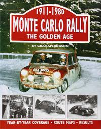 Monte Carlo Map Monte Carlo Rally The Golden Age 1911 1980 Graham Robson