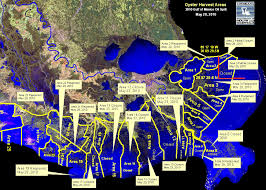 louisiana map areas dhh reopens oyster harvesting areas west of the mississippi