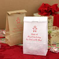 christmas paper bags christmas gift goodie bags personalized