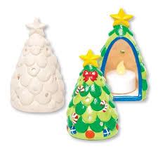 tree ceramic tealight holders