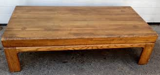 vintage square coffee table large coffee tables by bassett wood from mexico 6559 thippo