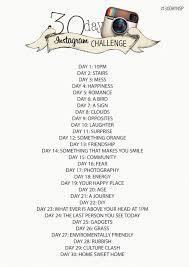 Challenge Instagram 30 Day Instagram Photo Challenge To Do Photo Ops