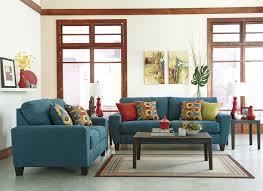 Cheap Blue Sofa Loveseat Ashley Faux Leather Furniture Blue Sofa Gray Earth Tones
