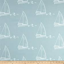 boat decor fabric nautical fabric premier prints seaton spa blue