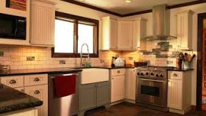 Fascinating Backsplash Ideas For L Shaped Small Kitchen Design Traditional White Kitchen Design Ideas With Wooden Island Simpel L