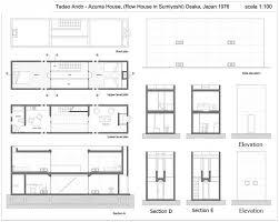 Row House Plans - row house azuma by tadao ando at sumiyoshi osaka architect boy