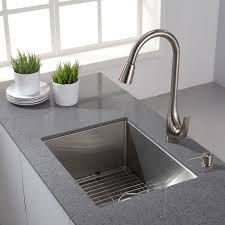 16 Gauge Kitchen Sink by Kraus Khu101 23 Kitchen Sink Build Com