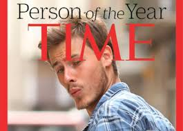 Meme Catalog - people made their own versions of the time person of the year