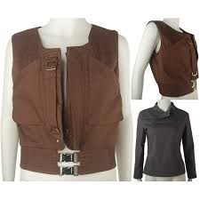Rogue Halloween Costume Rogue Star Wars Story Jyn Erso Vest Shirt Cosplay Costume