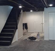 Basement Ceiling Design Paint Basement Ceiling Great Soundproofing A Basement Ceiling