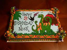 dinosaur birthday cakes dinosaur birthday cake flickr