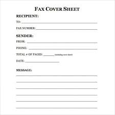 fax cover letter template starengineering