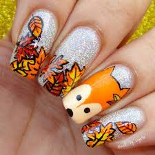 nail designs thanksgiving nails nail it