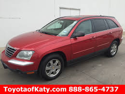 2004 chrysler pacifica red image 67