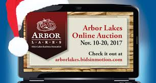online holiday auction arbor lakes
