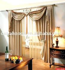 Priscilla Curtains With Attached Valance Curtains With Attached Valance Image 1 Lace Curtains With