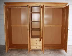 Schlafzimmerschrank Kiefer Gelaugt Ge T Kleiderschrank Schlafzimmer Schrank Drehtürenschrank Massiv Holz