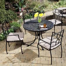 Patio Furniture Dining Set Home Styles Harbor Mosaic Outdoor Dining Set Hayneedle