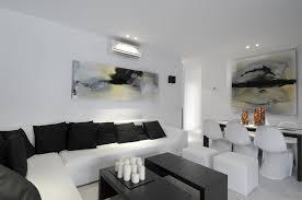 Beautiful Lighting White Sofa Living Room Decorating Ideas Round Orange Finish Solid
