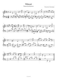 pièces de clavecin geminiani francesco imslp petrucci music