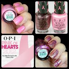 nail polish wars opi pink of hearts