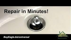 Removing A Bathtub Drain Bathtub Stopper U0026 Drain Installation Universal Nufit Youtube