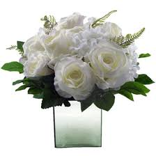 white floral arrangements white floral arrangement mirror vase coco