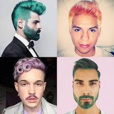 hair for hair rainbow hair color ideas for men popsugar beauty