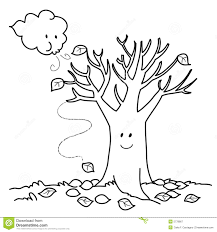 coloring pages of autumn fall tree coloring page with wallpapers high quality resolution at