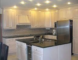 Painting Wooden Kitchen Cabinets White Kitchen Cabinets With White Appliances Oak Kitchen Cabinets