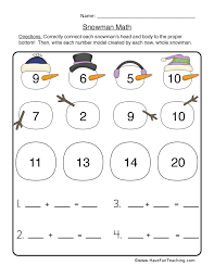 christmas worksheets for grade one christmas single digit