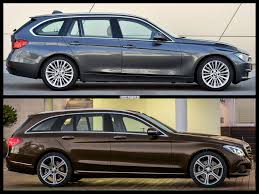 mercedes c class station wagon bmw 3 series touring vs 2014 mercedes c class t model