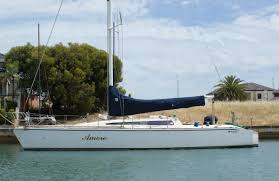 adams 11 9 40 foot fiberglass yacht for sale martin box marine