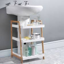 Under Cabinet Drawers Bathroom by Under Sink Shelf Under Sink Shelf X Seville Classics Expandable