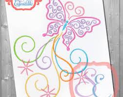 butterfly swirl etsy