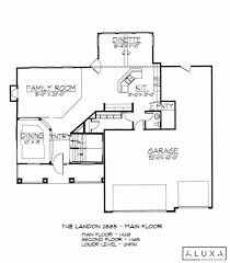 landon homes floor plans the landon aluxa homes sioux falls