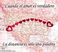 imagenes de amor verdadero ala distancia cuando el amor es verdadero la distancia es sólo una palabra