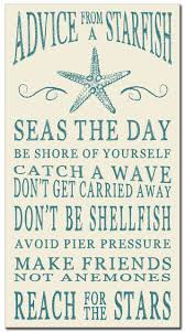 Nautical Themed Bathroom Decor Advice From A Starfish Wood Sign 16