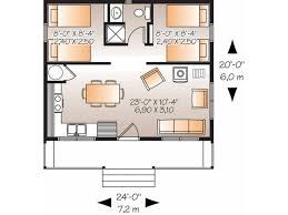 Two Bedroom House Design 20x20 House Plans Eplans Country House Plan Two Bedroom Country