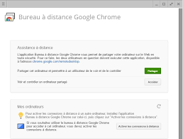 bureau à distance chrome comment contrôler un ordinateur à distance avec chrome