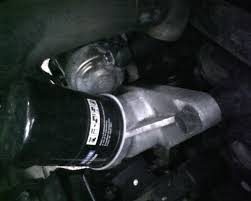 oil leak from oil filter stand kia forum