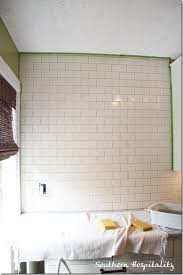 how to install a subway tile backsplash subway tile backsplash