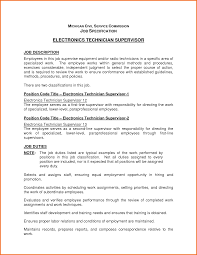 Electronic Engineering Resume Sample by Resume For Electronics Resume For Your Job Application